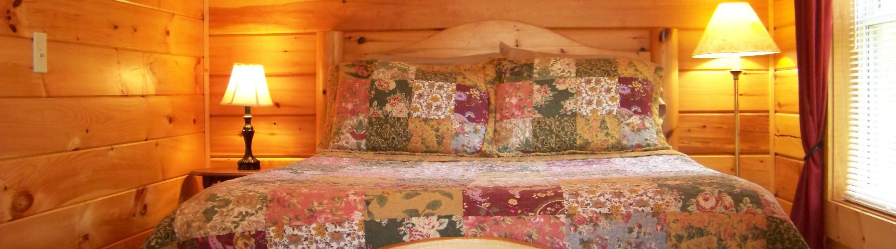 Log Cabin Bedroom Gill Ridge Log Cabin Bed Breakfast In Upper Meramec River Country